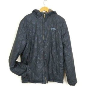 Billabong Winter Coat Jacket Mens XL Hood Black